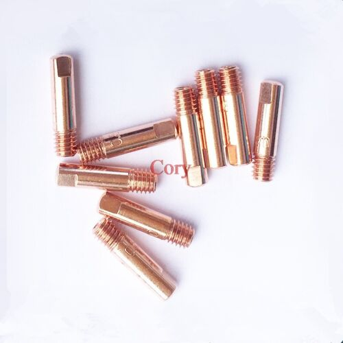 Mig welding Contact Tips 15AK 0.6mm 0.8mm 0.9mm 1.0mm 1.2mm M6x25mm Torch Nozzle