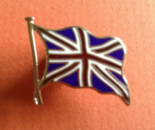 pin badge UK British Union Flag union jack