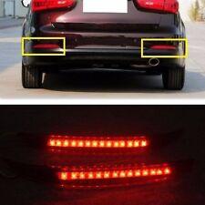 Rear Bumper Red LED Reflector tail Light Lamp For kia K3 Cerato Forte 2013 2014