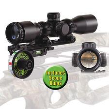 HHA Sports Crossbow Speed Dial Adjustable Sight System #23000 Illuminated Scope