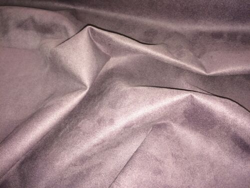 Faux Suede Grape Upholstery Fabric 150 cm Wide
