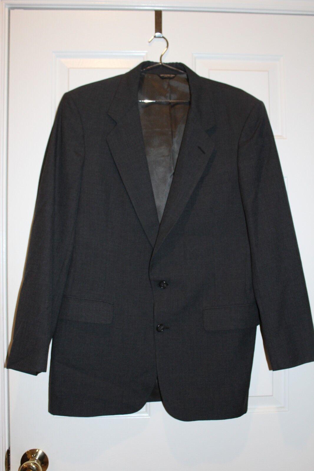 Herren Bill Blass grau Suit sz. L/XL