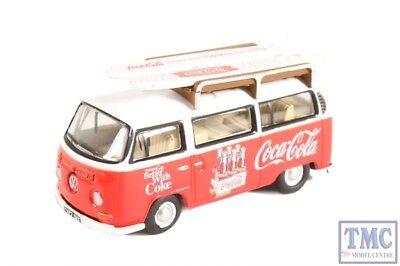 76VW030CC Oxford Diecast OO Gauge Volkswagen Bay Window Coca Cola