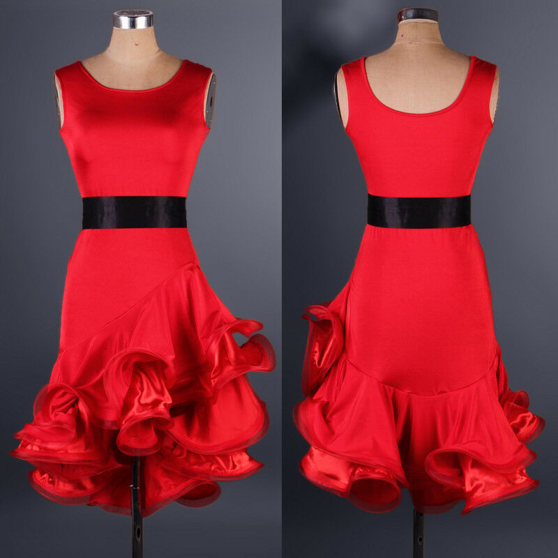 NEU Latino salsa Kleid TanzKleid LatinaKleid Latein Kleid Turnierkleid FM133