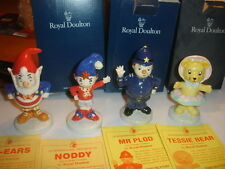 ROYAL DOULTON  LIMITED EDITION  NODDY, BIGEARS, TESSIE,  MR PLOD   BNIB  ENGLAND