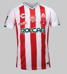 brand new ddf43 af979 Details about NEW 2018 RAYOS DEL NECAXA CHARLY HOME JERSEY 100% ORIGINAL  LIGA MX CHIVAS ATLAS