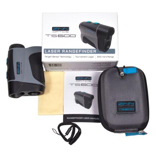 Zinn Optics TS600 Golf Rangefinder – 600 Yard Laser Range Finder w/Target Sensor