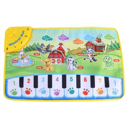 Baby Musikmatte Klaviermatte Kinder Spielmatte Musik Teppich Kindergeschenk SA