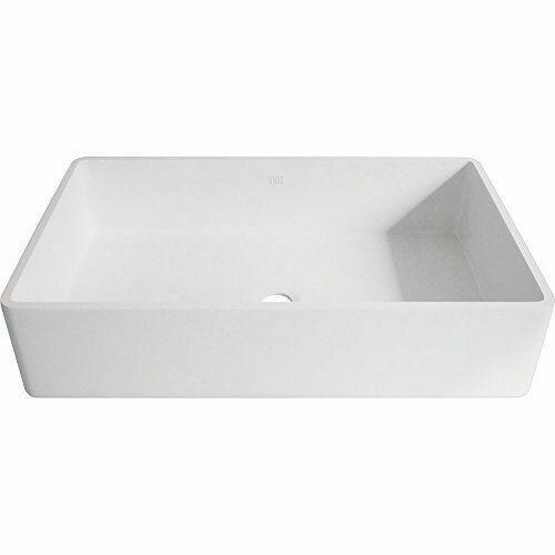 Vigo Vg04010 Magnolia White Matte Stone Vessel Bathroom Sink For Sale Online Ebay