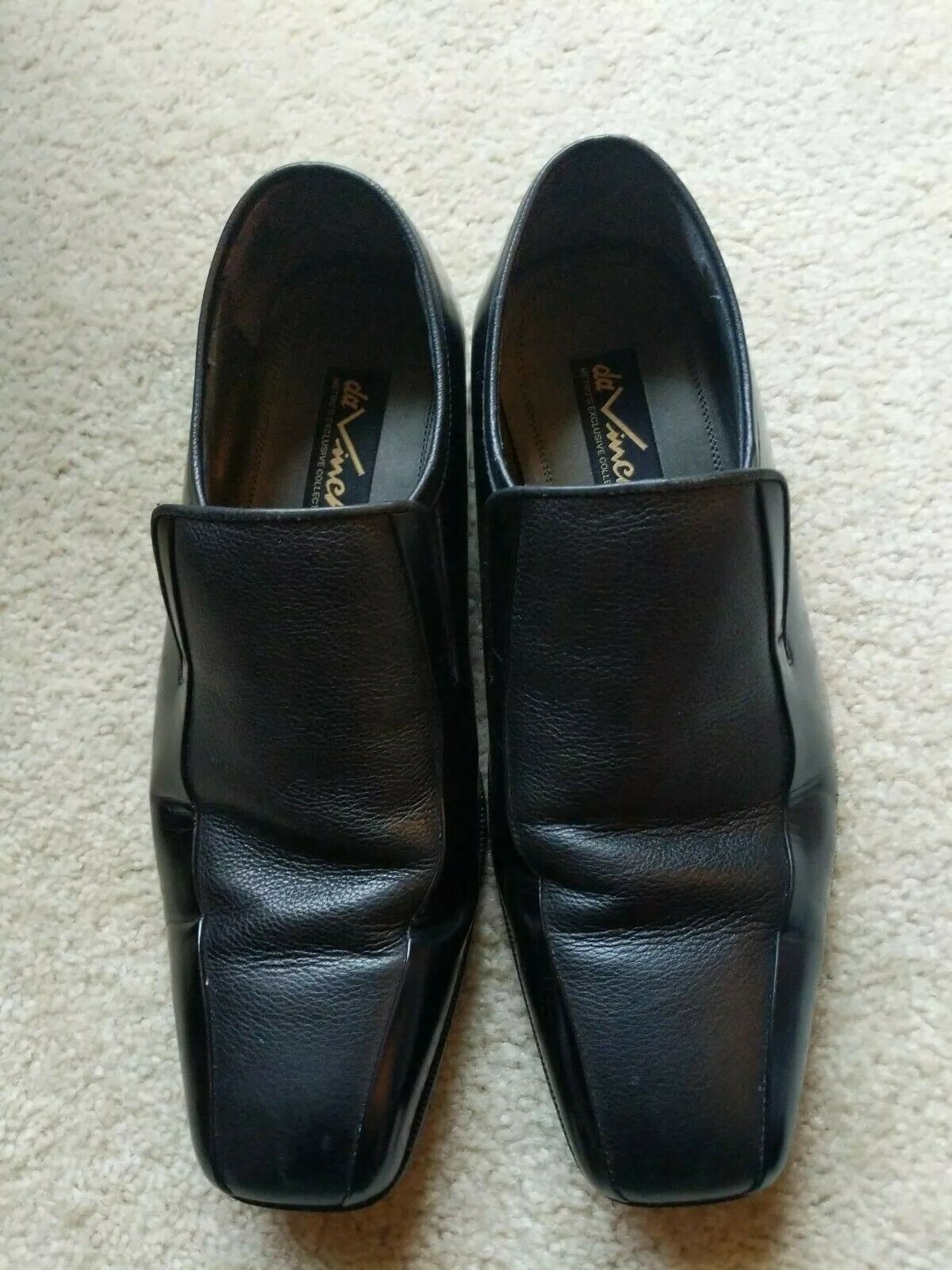 DaVinci Metro Exclusive Collection Size 40 To U.S. Men's 9 Dress shoes Great