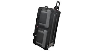 df3cae91dd 36-INCH Travel Rolling Wheel Duffel Duffle Bag by Amaro - Black ...