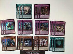 Endlich goldener Lord SESL-DE Holo Yu-Gi-Oh 30 Karten Deck Core Set Zombie