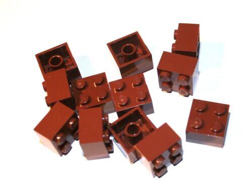 12x LEGO® Stein 2x2 3003 NEU Braun Reddish Brown