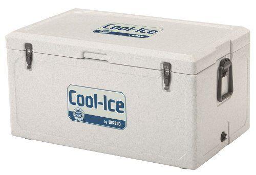 WAECO Cool Ice WCI-85 Passiv Kühlbox Kühltasche 85l Urlaub Jagen Angeln Ablauf