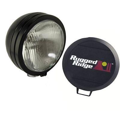 Rugged Ridge 15210.50 6 Black HID Light Cover