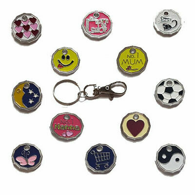 Shopping Token  No 1 Mam Trolley shopping Trolley Key-ring new style £1 coin