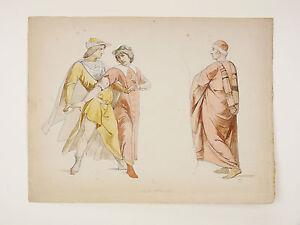 Paul-Benoît-Édouard BAILLE (1814-1888) Aquarelle orig. François-Édouard Picot - France - Paul-Benot-Édouard BAILLE (1814-1888) Dessin crayon et aquarelle original, daté 1845 en bas Dimensions (uvre seule) : 23 cm x 30,3 cm / Dimensions (support) : 35 cm x 50,2 cm Paul-Benot-Édouard BAILLE, né en 1814 et mort en 1888, est un peint - France