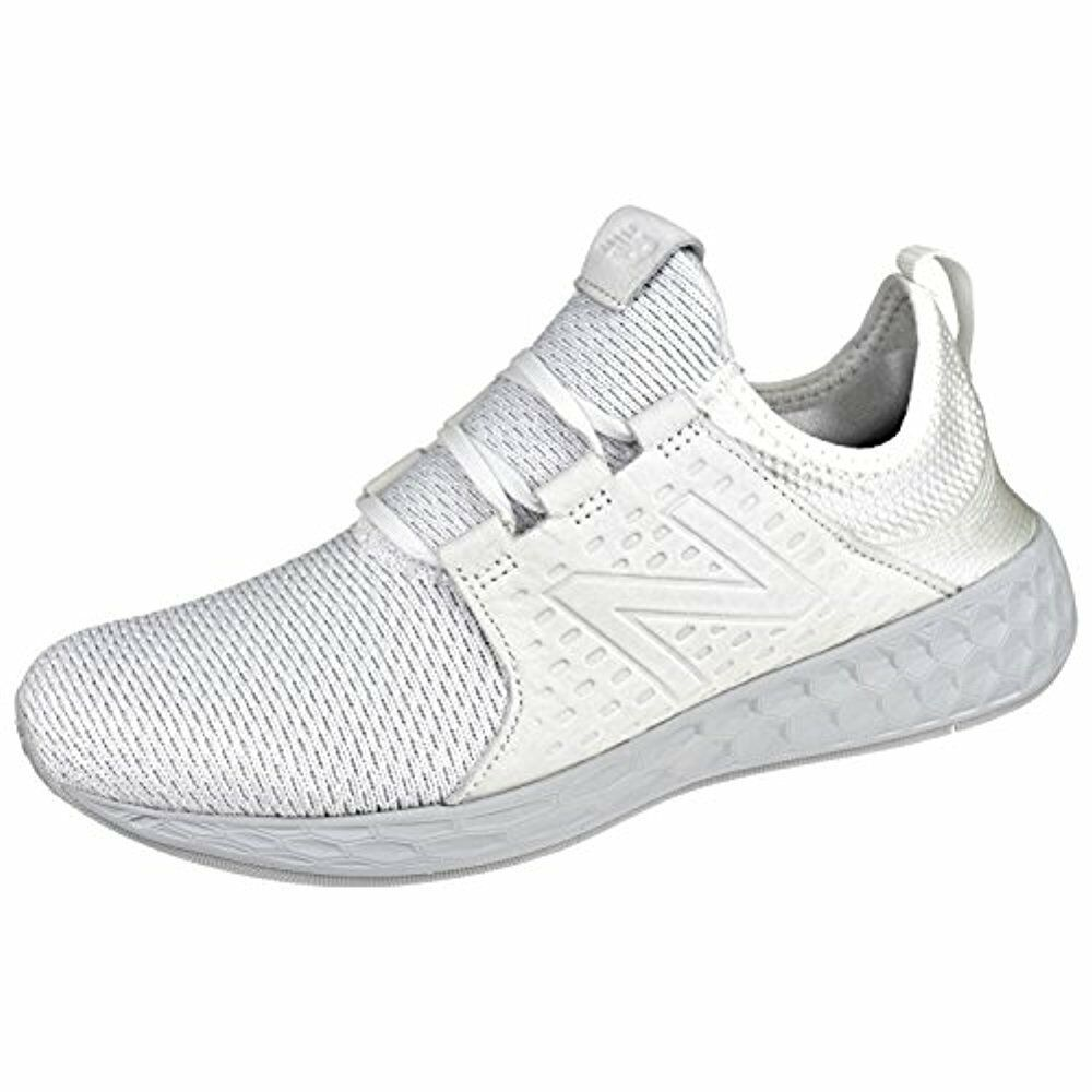 New Balance Men's Cruz Running shoes,White Munsell Nimbus Cloud,9.5 D US