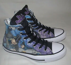 bcb791a62da0 The Penquin Batman Converse All Star High Hi Tops Shoes Mens Size 4 ...