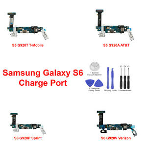 OEM-Charger-Dock-Charging-Port-MIC-Flex-Cable-For-Samsung-Galaxy-S6-G920A-T-V-P