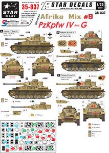 Star-Decals-1-35-German-Afrika-Mix-9-PzKpfw-IV-Ausf-G-35837