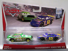 CARS - CHICK HICKS & TRANSBERRY JUICE - Mattel Disney Pixar
