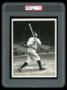 GORGEOUS 1933 Original Photo BABE RUTH Yankees HOME RUN SWING a BEAUTY !