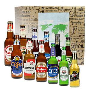12 Biere aus 12 Ländern - Bierweltreise in Geschenkbox - Biere aus aller Welt