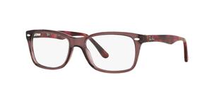 19862d3198 Ray-Ban RX5228 Eyeglasses Opal Brown 5628 Size W55 B17 L140 J ...