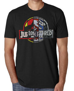 Jurassic-Park-25th-Anniversary-T-Shirt-Jurassic-World-Fallen-Kingdom-Tee-Shirt
