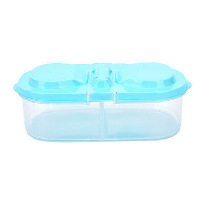 Plastic Kitchen Container Fresh Fruit Food Snacks Storage Sauce Box Food Case ft