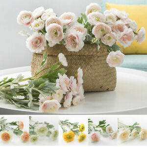 Am-Artificial-Rose-Flower-Photography-Prop-Wedding-Party-Home-Table-Decor-Splen