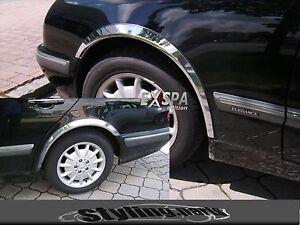 Paso-de-Rueda-Moldura-Pasarueda-Radhaus-Limo-Familiar-Cromo-para-Mercedes-W210