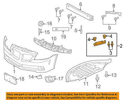 NEW FRONT BUMPER REINFORCEMENT FITS 2003-2008 PONTIAC VIBE GM1006420