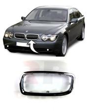 BMW 7 E65 2005-2008 NEW FRONT UPPER RADIATOR GRILLE CHROME FRAME LEFT N//S