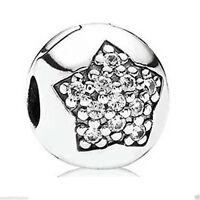 Pandora Charm 791056cz You're A Star Cz Clip Box Included