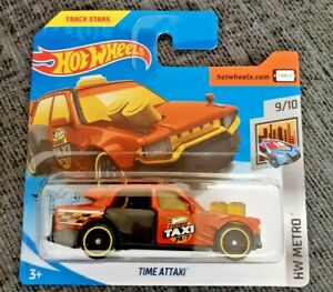 Mattel-Hot-Wheels-tiempo-attaxi-Nuevo-Sellado