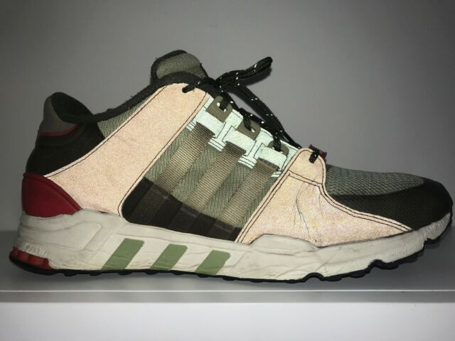 new style 9e57c f8229 Adidas EQT 93 3M Equipment Running Support US Size 11 Mens Shoes Olive  Green Red