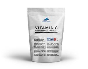 VITAMIN-C-Q10-CONEZYME-TABLETS-1000mg-BEST-ANTIOXIDANTS-IMMUNITY-HEART