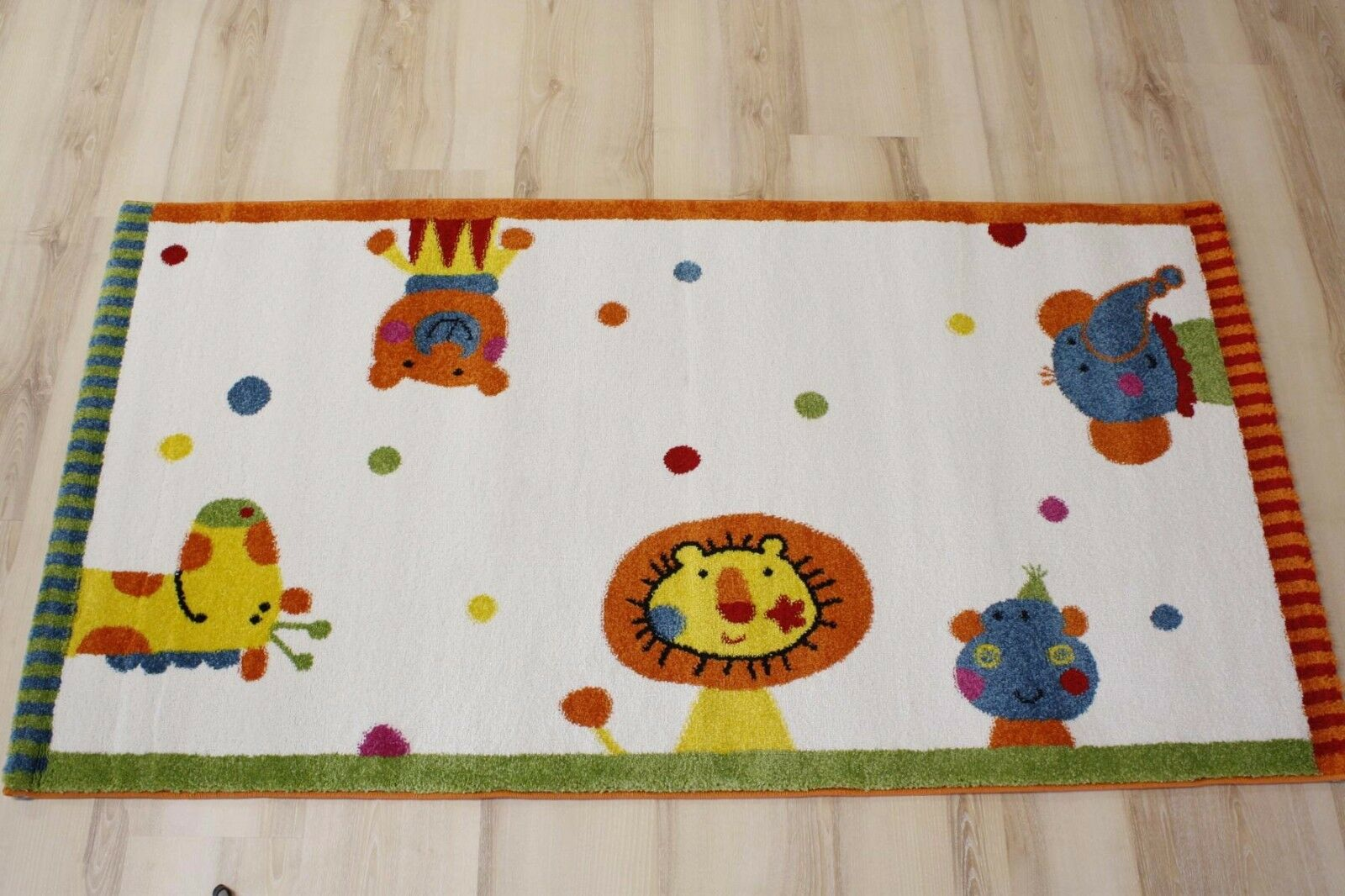 Enfants tapis jeu tapis sigikid sk-0525-01 Animal Festival 200x290 cm multiCouleures