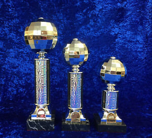 Large-Glitter-Ball-Award-Disco-Ball-Dance-Strictly-Trophy-FREE-Engraving