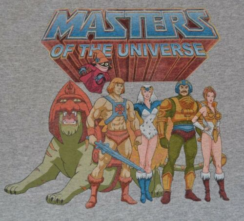 Masters of the Universe He-Man sous licence officielle MOTU T-shirt adulte Tee