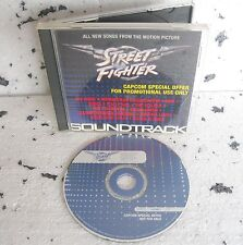 STREET FIGHTER Soundtrack (1994) CD ORIGINALE PROMO Priority Records DPRO 50836