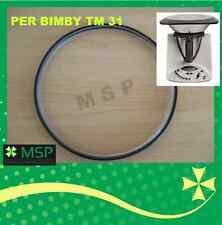NUOVA GUARNIZIONE COPERCHIO AD BIMBY TM 31 SILICONICA X ALIMENTI TUV NO FOLLETTO
