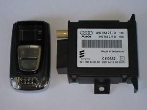 AUDI-A8-4H-A7-4G-A6-C7-Standheizung-Fernbedienung-Empfangsgeraet-Steuergeraet-4H0
