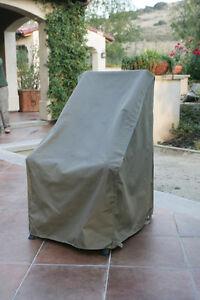 Patio Garden Outdoor High Back Chair Covers Patio