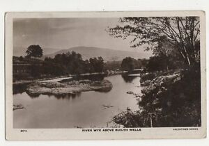 River Wye Above Builth Wells 1918 RP Postcard  206a - Aberystwyth, United Kingdom - River Wye Above Builth Wells 1918 RP Postcard  206a - Aberystwyth, United Kingdom