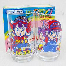 Dr. Slump Arale chan Retro Glass Set Mitsuya Cider JAPAN ANIME MANGA