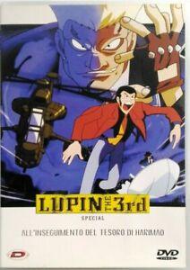 Dvd-Lupin-III-the-3rd-All-039-inseguimento-del-tesoro-di-Harimao-Special-Dynit
