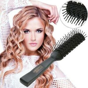 Pro-Anti-Static-Hair-Comb-Brush-Ribs-Hairbrush-Salon-Hair-Care-Styling-Tool